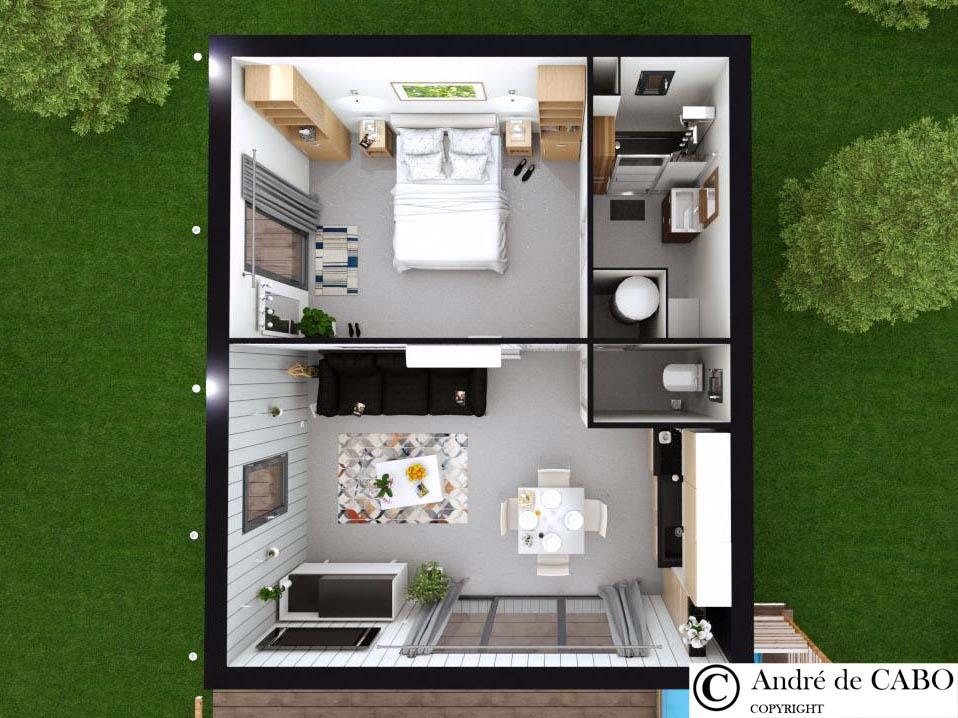 Intérieur mobil home