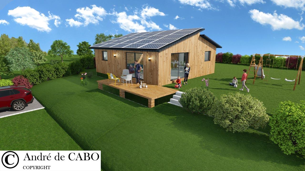 Maison solaire écologique HOMAJ