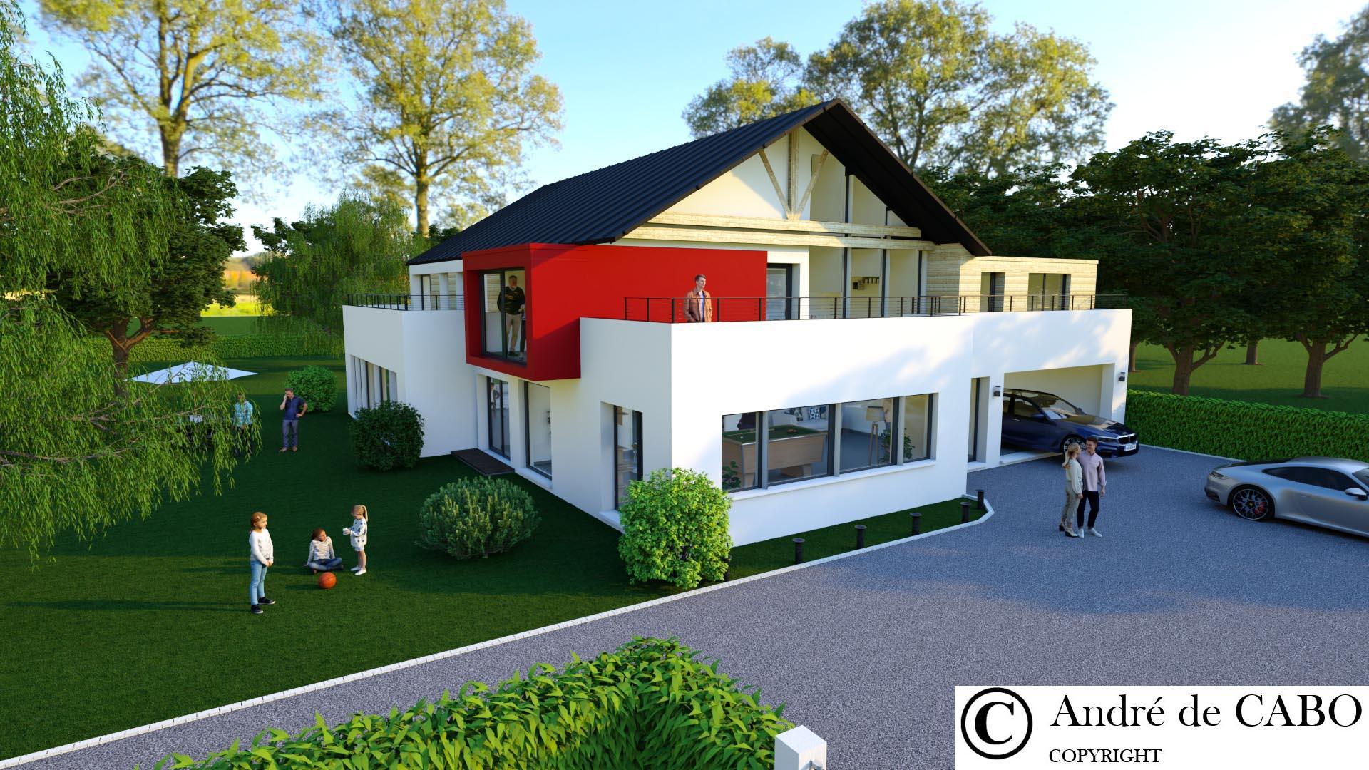 Villa architecte